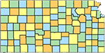 Kansas Map Icon